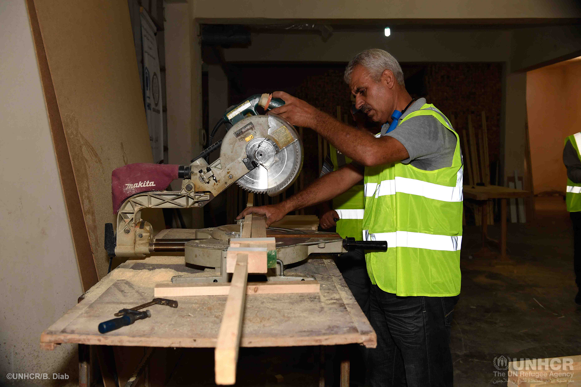 UNHCR helps returnees rebuild their lives in east-Aleppo