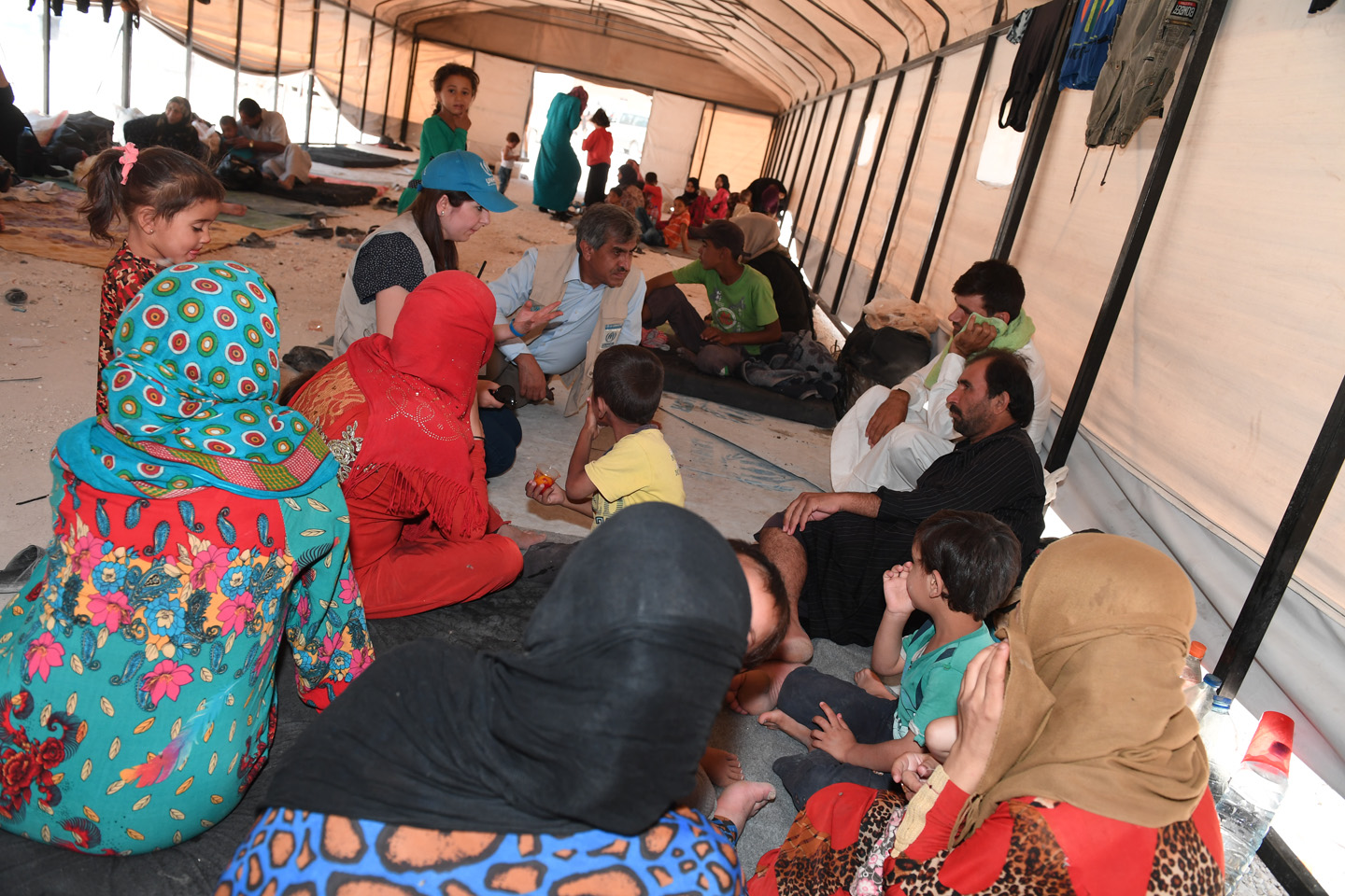 Desperate needs and pleas for safe passage out of Raqqa