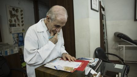 Syrian doctor devotes his life to serve displaced, refugees and vulnerable