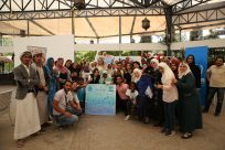 An open day increases engagement between refugees and Syrian displaced people