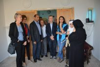 Norwegian delegation meets displaced Syrians in Homs city
