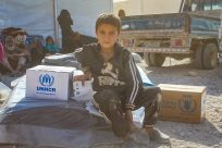 Concerns about displaced people from Ar Raqqa, UNHCR provides response in northern Syria