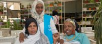 Senior citizens of the refugee community in Syria enjoy open day event