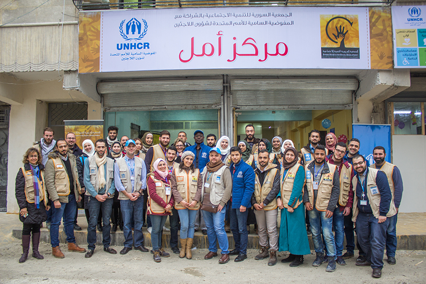 Syria.UNHCR increases the response for the returning families in east Aleppo