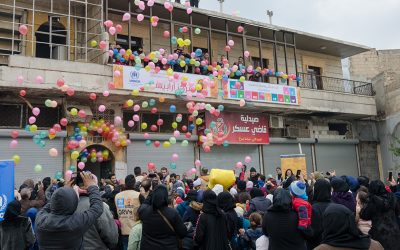 New Community Centres open and expand assistance to vulnerable people in east Aleppo