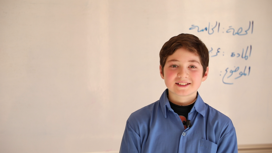 """My dream is to be a doctor and help people""; UNHCR and partner rehabilitate one of the oldest schools in Aleppo"