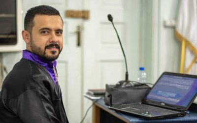 In Syria, Iraqi refugee achieves his higher education dream