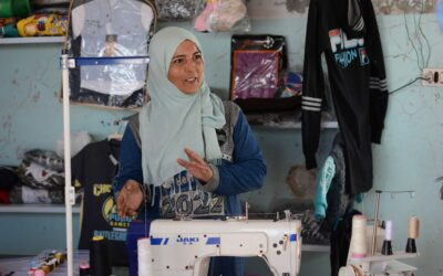 A Syrian Returnee Mother Finds A Ray of Hope Through Tailoring