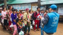 Myanmar refugees return home from Thailand with UNHCR support