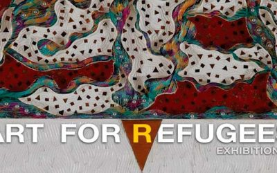 "UNHCR and Phramedhivajirodom organize ""Art for Refugees Exhibition 2"" to raise funds for refugee shelters"
