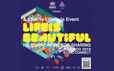"UNHCR and LIFEiS Group organize ""LIFEiS BEAUTiFUL – No boundaries for sharing"""