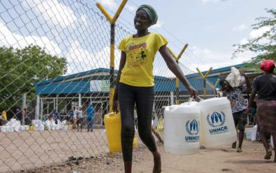 Sony provides the first major corporate contribution to UNHCR's COVID-19 appeal