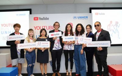 "UNHCR and Google organise ""YouTube Run for UNHCR"" in Bangkok"