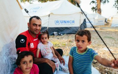 UNHCR scales up immediate shelter support for Moria asylum seekers; urges for long-term solutions to address overcrowding on Greek islands