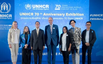UNHCR Thailand commemorates 70 years of protecting people forced to flee