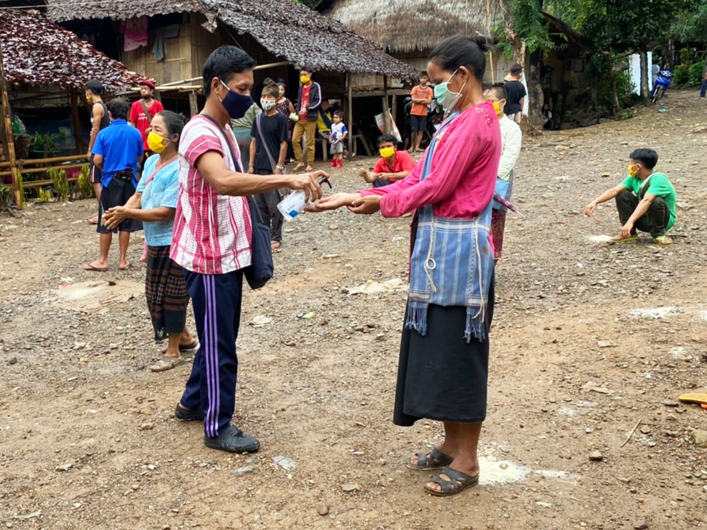 One year on, Myanmar refugees support COVID-19 prevention efforts in Thailand