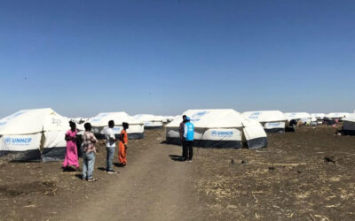 UNHCR relocates first Ethiopian refugees to a new site in Sudan