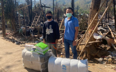 Fire incident at Mae La temporary shelter