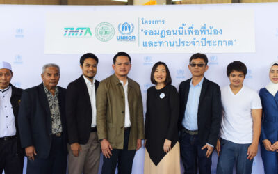 UNHCR extends collaboration and protection for refugees on its fourth Ramadan campaign in partnership with the Sheikhul Islam Office and Thai Muslim Trade Association