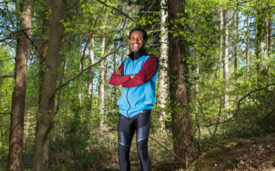 'Running helped me to find myself'