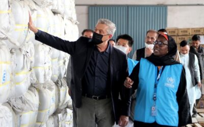 UN High Commissioner for Refugees completes three-day visit to Afghanistan