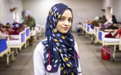 Afghan refugee doctor dares women and girls to dream