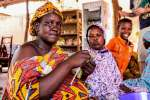Malian refugee artisans learn to design and make quality products at a...