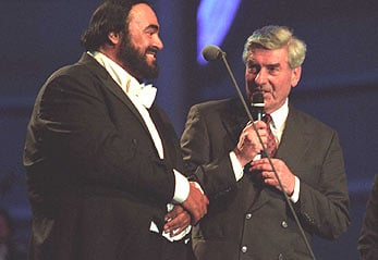 "2001 - Luciano Pavarotti, in recognition of his efforts to give visibility to the refugee cause and to help raise funds for refugees projects. The 2001 ""Pavarotti and Friends"" concert and related activities raised awareness about Afghan refugees and the conditions they were living in. Profits from the event went towards funding various projects benefitting Afghan refugee children in Pakistan. Pavarotti continued to support UNHCR until his death in 2007."