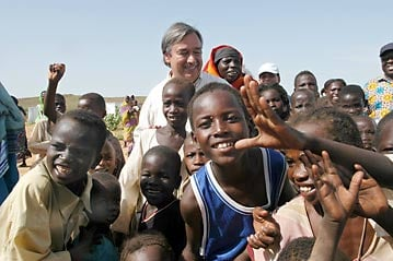 unhcr quotno one will force you to returnquot guterres tells