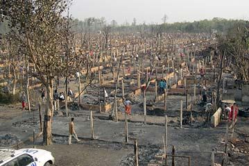 Unhcr Fire Razes Refugee Camp In Nepal Aid Rushed To