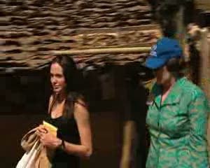 Angelina Jolie visits refugees in Thailand