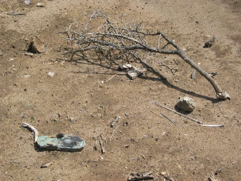 Some of the remains of a burned-out village in western Sudan's […]