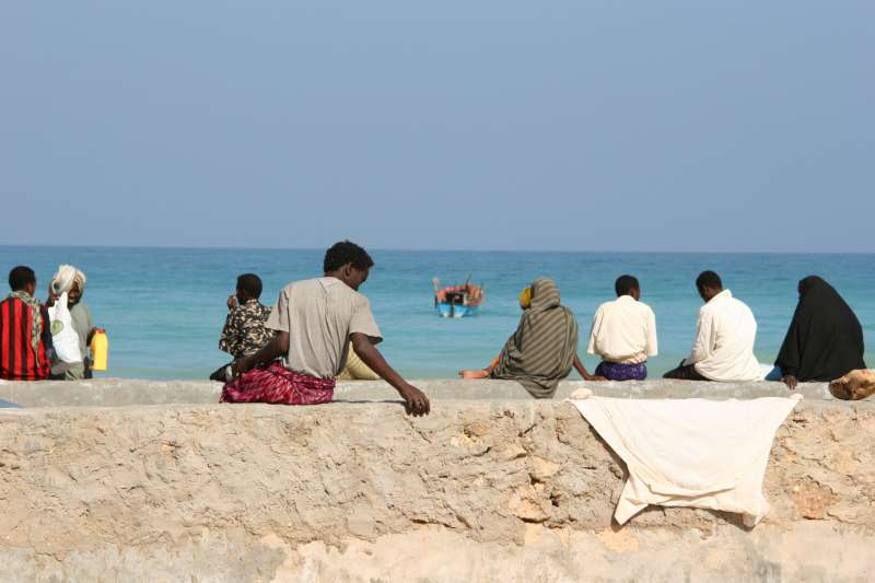 Bossaso is not only the chief port of Puntland, a self-declared autonomous area in north-east Somalia, but also a major hub for people smuggling.