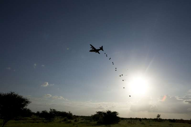 An American C-130 is expected to airdrop more than 200 tonnes […]