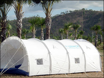 First phase of Timor emergency airlift complete tents reach Dili displaced & UNHCR - First phase of Timor emergency airlift complete tents ...