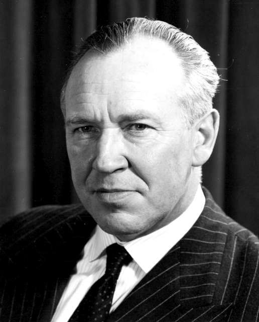 Dr August R Lindt, UN High Commissioner for Refugees 1956-1960