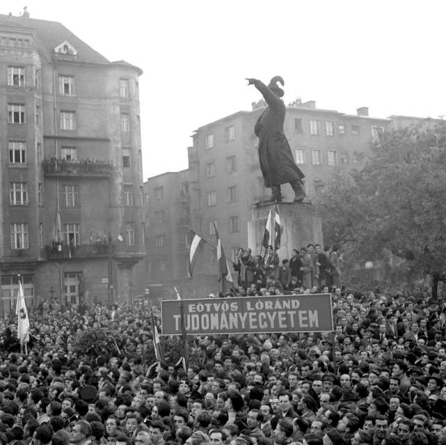 The Hungarian Revolution was triggered by a spontaneous demonstration […]