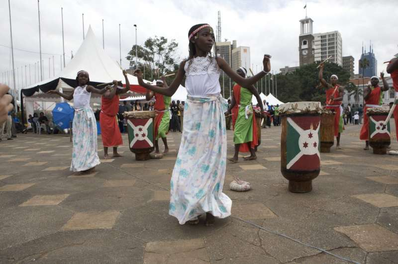 Dance  and music performances outside of the Kenyatta International […]
