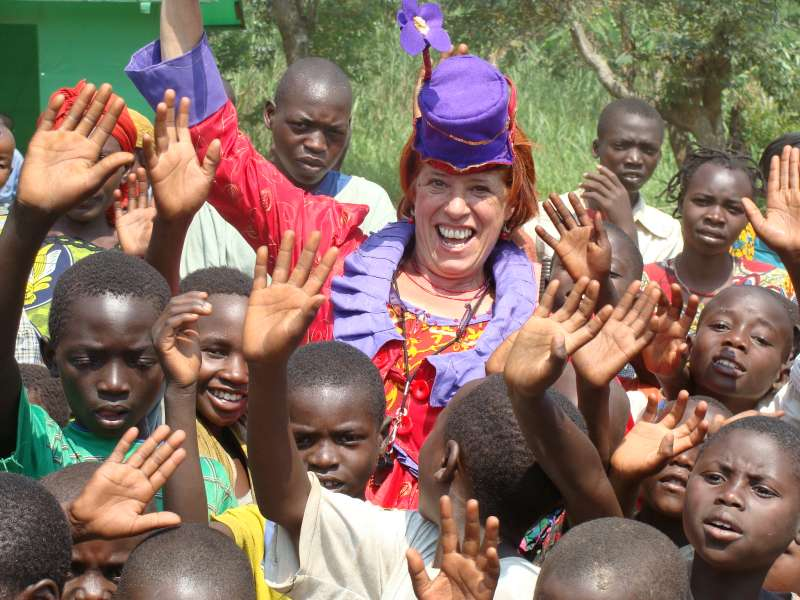 unhcr clowns bring smiles and inspiration to displaced people in