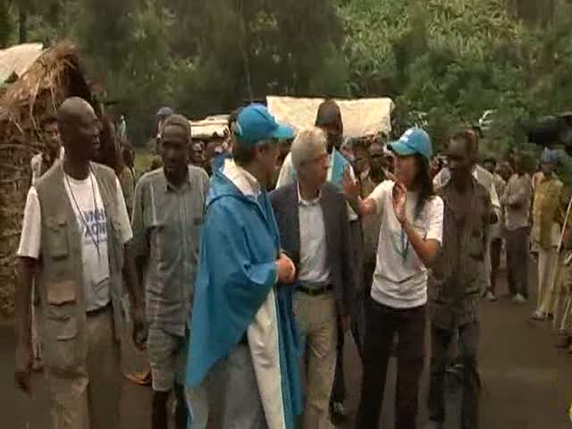 High Commissioner Guterres visits eastern Congo