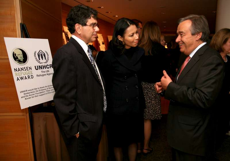UNHCR Regional Representative Michel Gabaudan, NBC news anchor […]