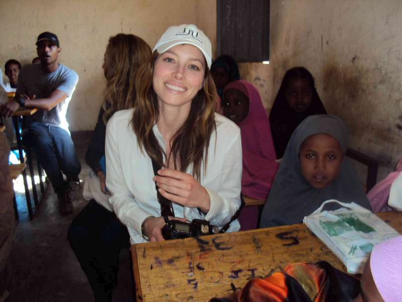 unhcr celebrities visit refugee camp in ethiopia after