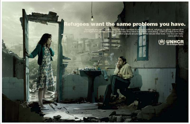 Caught In The Act One Of Images Award Winning Campaign C UNHCR