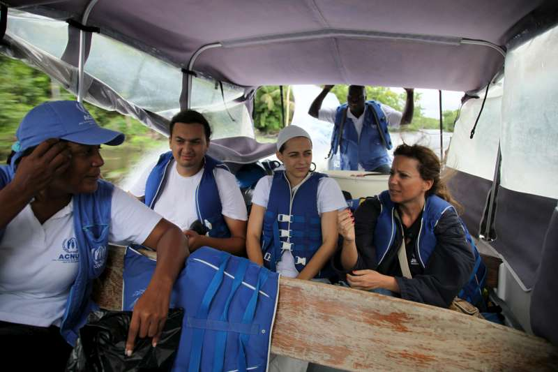 UNHCR staff set out on the long boat journey to visit the Tule […]