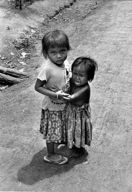 In the late 1970s, Thailand became the country of first asylum for refugees from Cambodia, Laos and Vietnam. These Cambodian children were among the tens of thousands who fled to Thailand during and after the brutal Khmer Rouge regime.