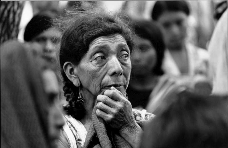 A cycle of repression and violence engulfed Central America in the 1980s and more than 300,000 people, including this Guatemalan woman in Mexico, received assistance.