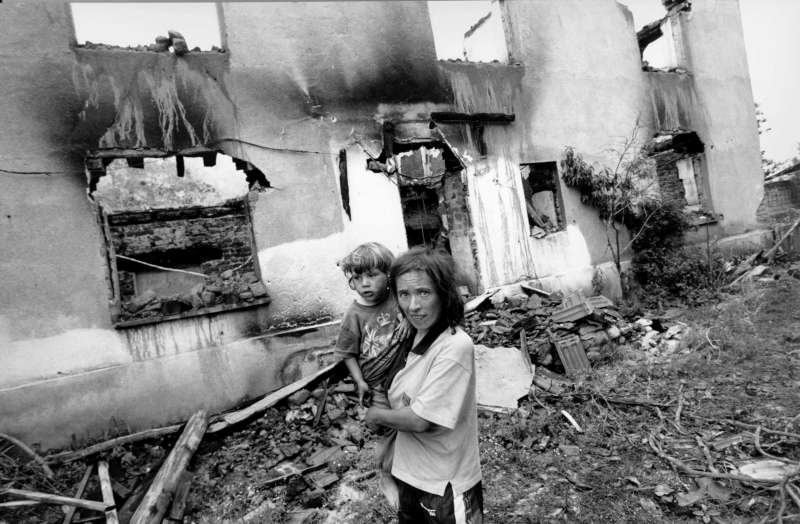 Refugees began flooding back into Kosovo virtually as quickly as they had left, but many returned to scenes of utter destruction.