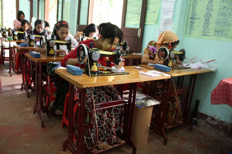 Myanmar: Women's Training Project Earns Money and Goodwill
