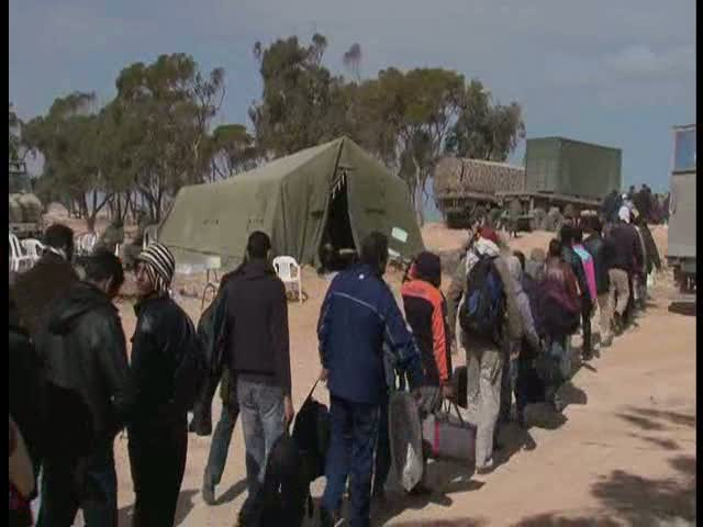 Tunisia: Border Arrivals