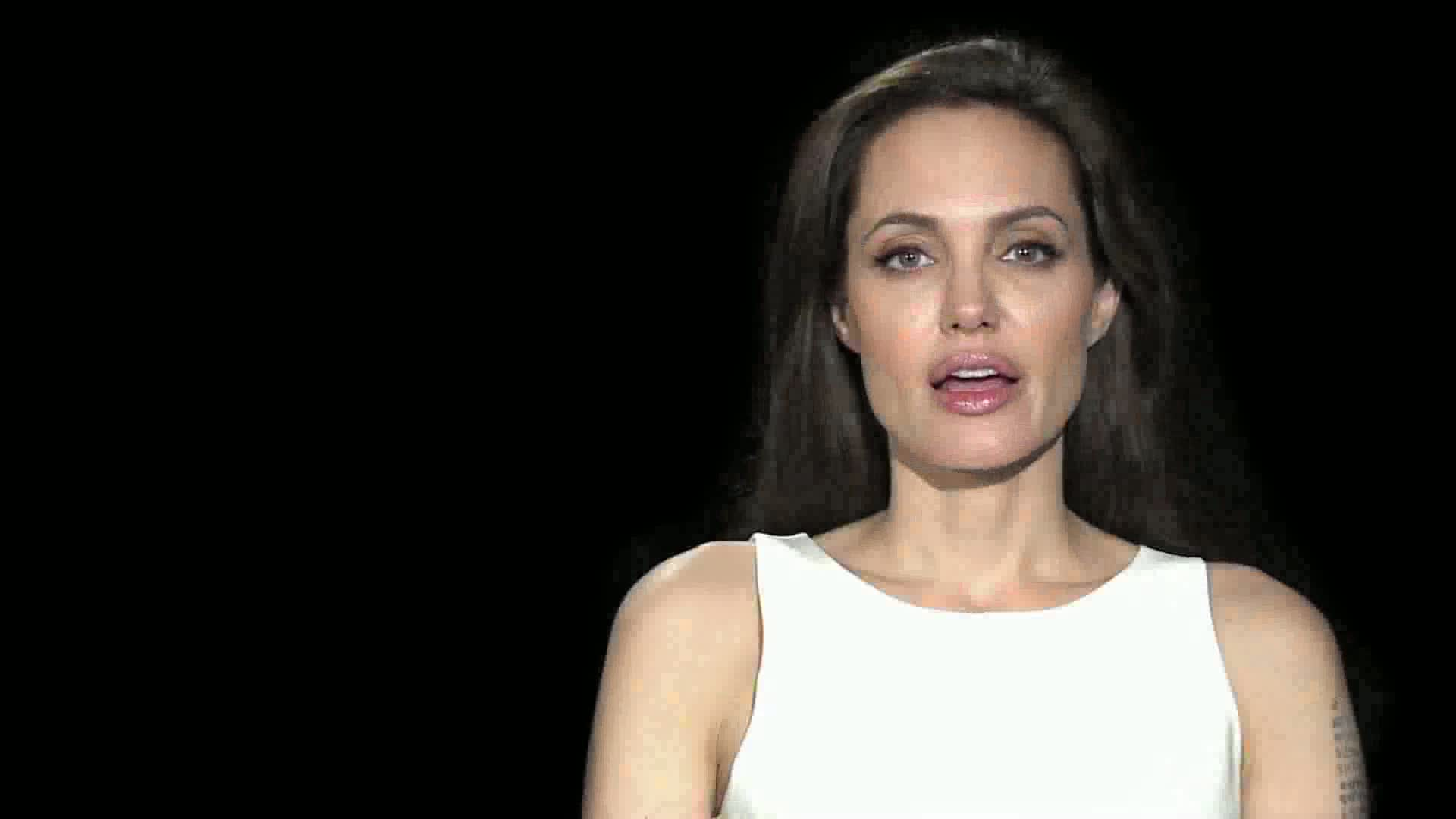 Angelina Jolie WRD 2011 message